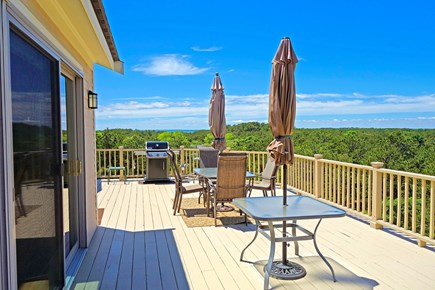 Wellfleet Cape Cod vacation rental - The main deck