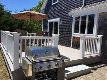 South Chatham Cape Cod vacation rental - Deck