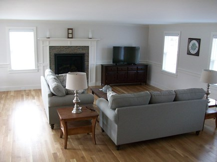 South Chatham Cape Cod vacation rental - Spacious living room