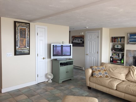 Truro Cape Cod vacation rental - Flat screen TV;  lots of viewing choices