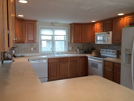 Truro Cape Cod vacation rental - The kitchen is fully equipped and there's a grill outside