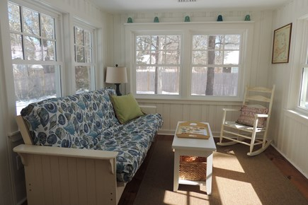 West Harwich Cape Cod vacation rental - Sun room With Double Futon