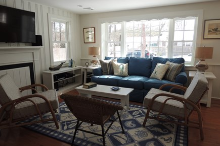 West Harwich Cape Cod vacation rental - Sunny Living Room with Surround Sound