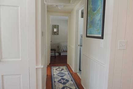 West Harwich Cape Cod vacation rental - Hallway Leads to Bedrooms & Bath