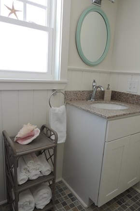 West Harwich Cape Cod vacation rental - Full Bath With Brand New Tile