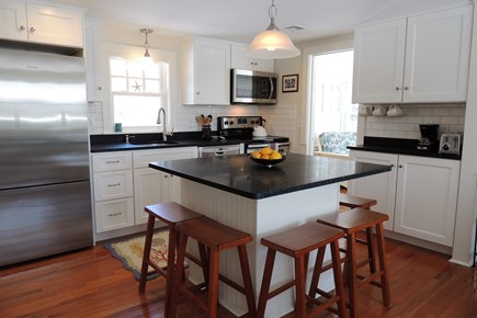 West Harwich Cape Cod vacation rental - Modern Kitchen with Granite Countertops