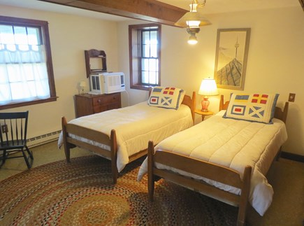 Brewster Cape Cod vacation rental - Lower level twins.