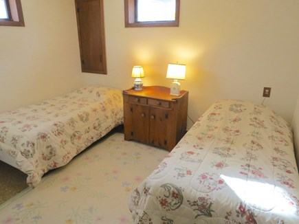 Brewster Cape Cod vacation rental - Fourth bedroom has twins.