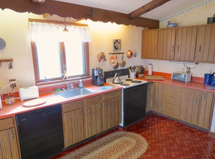 Brewster Cape Cod vacation rental - Here's the fully equipped kitchen.