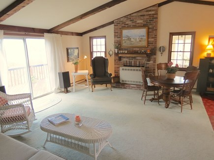 Brewster Cape Cod vacation rental - Open, light and bright living space -- unusual in Cape cottages