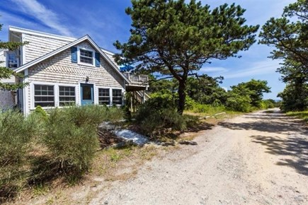 Wellfleet Cape Cod vacation rental - Easy walk down this road to ocean beach