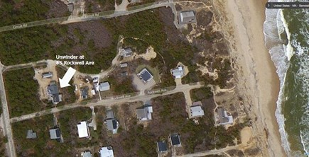 Wellfleet Cape Cod vacation rental - Satellite View