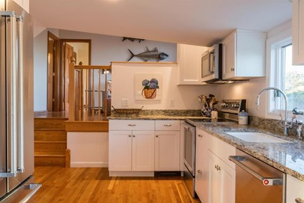 Wellfleet Cape Cod vacation rental - Stainless and Granite Kitchen located on second floor