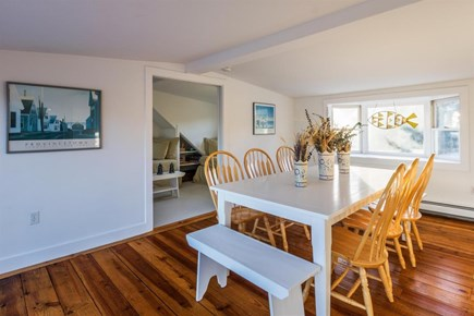 Wellfleet Cape Cod vacation rental - Dining room is located on second floor