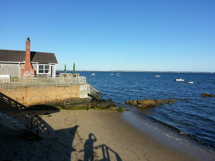 Provincetown Cape Cod vacation rental - Cape Cod Bay from Johnson Street Beach