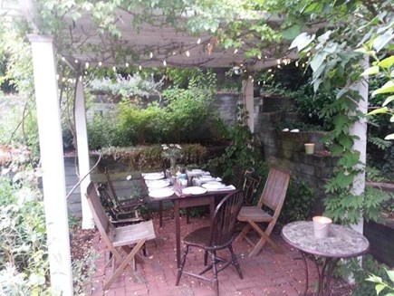 Provincetown Cape Cod vacation rental - Private Patio in Courtyard