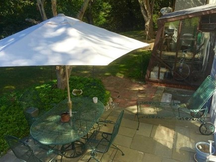 East Sandwich Cape Cod vacation rental - Patio