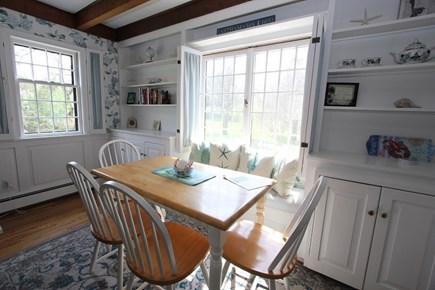 East Sandwich Cape Cod vacation rental - Dining Nook