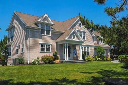 West Yarmouth Great Island Cape Cod vacation rental - Spacious home with beautifully landscaped front yard.