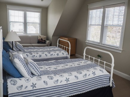 West Yarmouth Great Island Cape Cod vacation rental - Kids room with twin beds and pull out sleeper sofa.