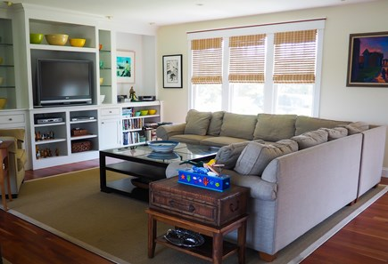 West Yarmouth Great Island Cape Cod vacation rental - Open floor plan; spacious living room.  Great for entertaining.
