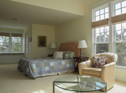 West Yarmouth Great Island Cape Cod vacation rental - Master bedroom other view.  His/her walk in closets.