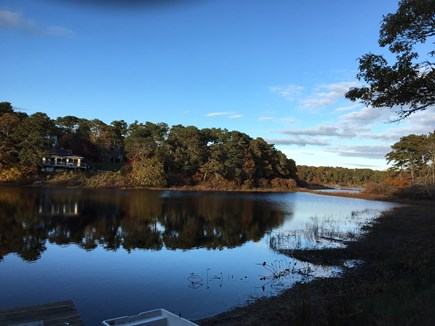 Chatham Cape Cod vacation rental - Ryder Pond with School House Pond in the distance