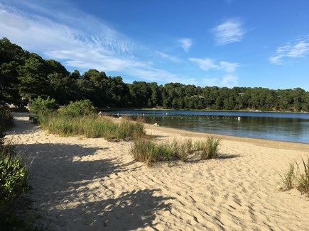 Chatham Cape Cod vacation rental - School House Pond beach and swimming area
