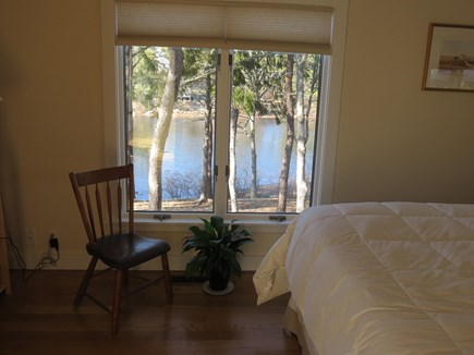 Chatham Cape Cod vacation rental - Master Bedroom with private pond view