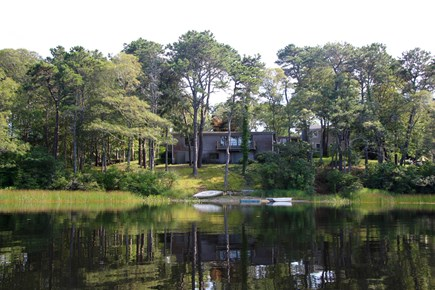 Chatham Cape Cod vacation rental - Back yard of The Atrium House