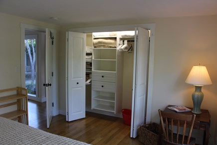 Chatham Cape Cod vacation rental - 14 ft. Master Bedroom closet w/CA closet shelving
