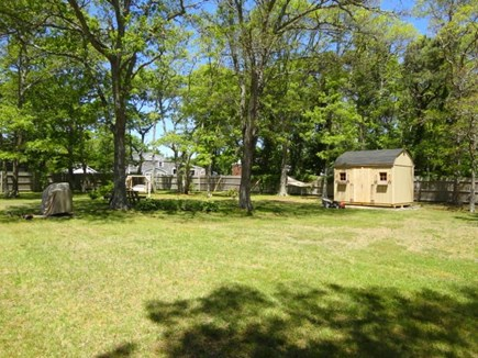 West Yarmouth Cape Cod vacation rental - Huge fenced-in back yard