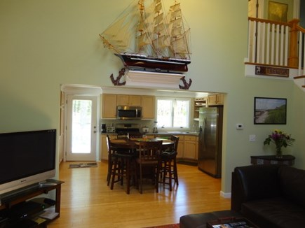 West Yarmouth Cape Cod vacation rental - ...opens to eat-in kitchen