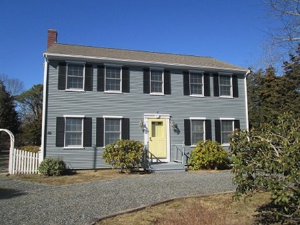 Eastham Cape Cod vacation rental - Exterior shot with plenty of parking in horseshoe driveway!