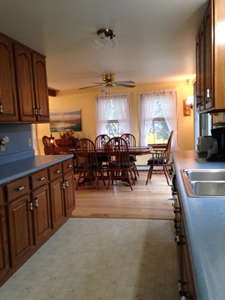 Eastham Cape Cod vacation rental - Kitchen to dining room