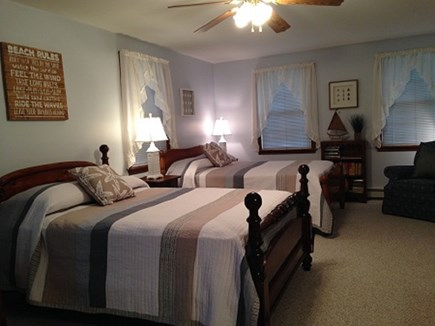 Eastham Cape Cod vacation rental - Large bedroom with 2 double beds