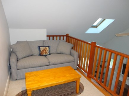 West Yarmouth Cape Cod vacation rental - Double pullout sofa bed in loft at top of stairs