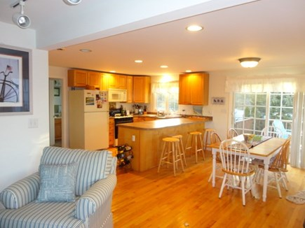 West Yarmouth Cape Cod vacation rental - Open to dining and kitchen