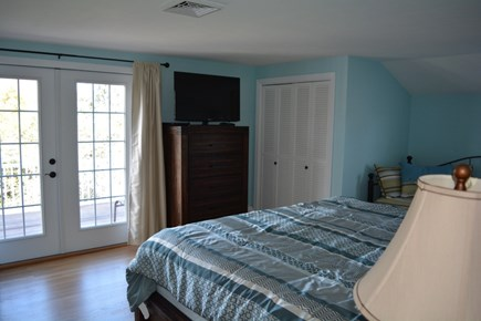 West Yarmouth Cape Cod vacation rental - 2nd floor king master with private bath and deck