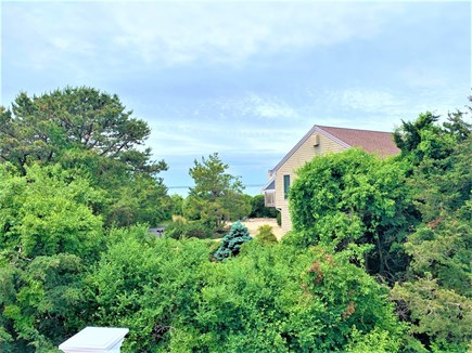 West Yarmouth Cape Cod vacation rental - Peeks of Lewis Bay form the master bedroom deck
