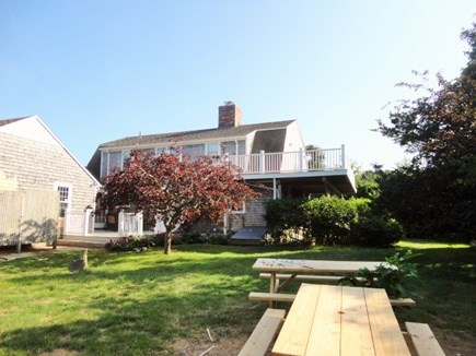 West Yarmouth Cape Cod vacation rental - Large back yard