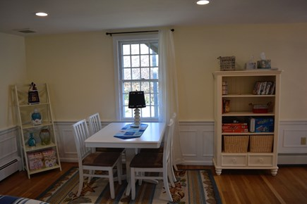 West Yarmouth Cape Cod vacation rental - Game table in living room