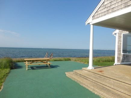 Hyannis Cape Cod vacation rental - Stairs into the Ocean!