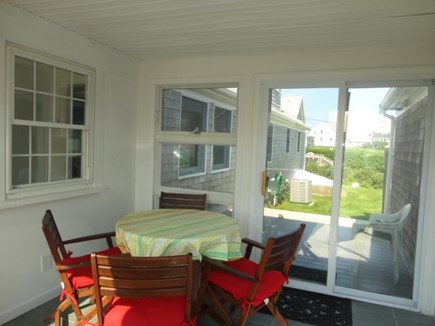 Hyannis Cape Cod vacation rental - Entryway with access to back deck