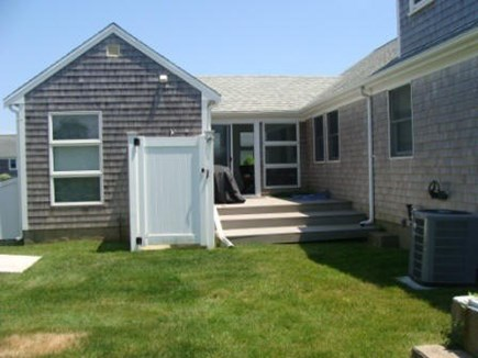 Hyannis Cape Cod vacation rental - Private deck and enclosed outdoor shower