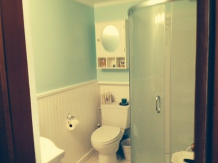 Falmouth Cape Cod vacation rental - New Circular Shower