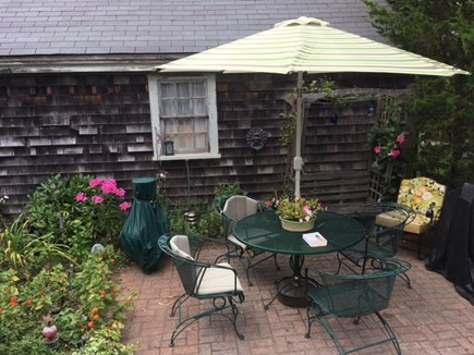 Falmouth Cape Cod vacation rental - Patio - almost dinner time