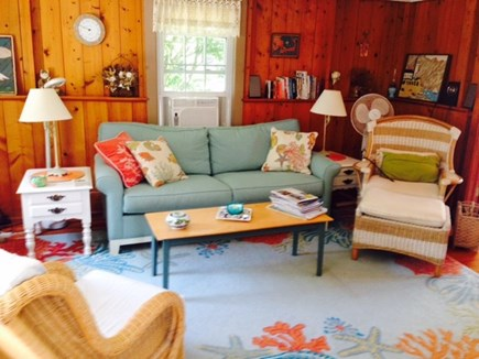 Falmouth Cape Cod vacation rental - Living Room with Wifi, TV/DVD