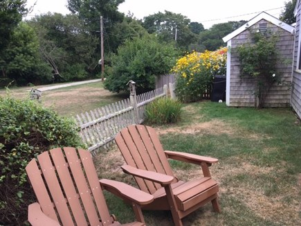 Falmouth Cape Cod vacation rental - Relax or play bocce in the back yard