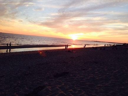 Falmouth Cape Cod vacation rental - Cape Cod sunset